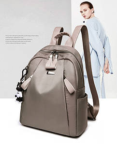 Жіноча сумка - рюкзак HiFlash Сіра ✔