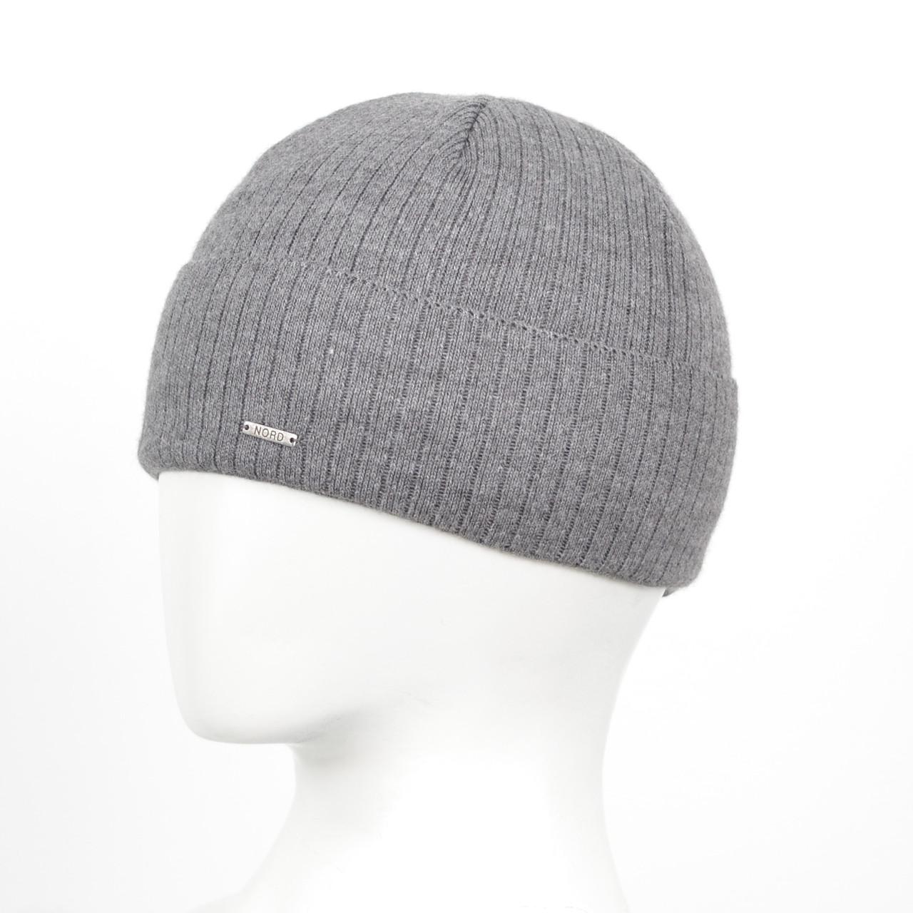 "Мужская шапка Nord ""Stenli"" 15030 Серый"