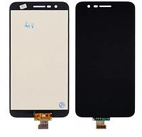 Дисплей LG X410 K11 модуль в сборе с тачскрином, черный