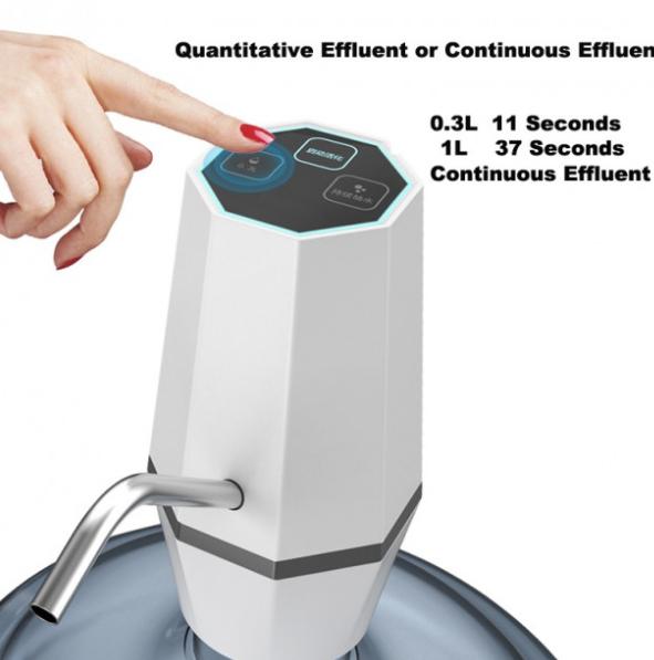 Электро помпа для бутилированной воды Water Dispenser JLB-H1 электрическая аккумуляторная на бутыль