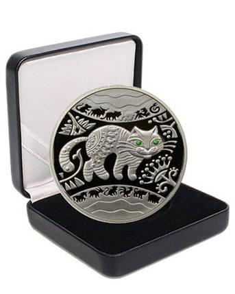 """Срібна монета НБУ """"Рік Кота (Кролика, Зайця)"""", фото 2"""