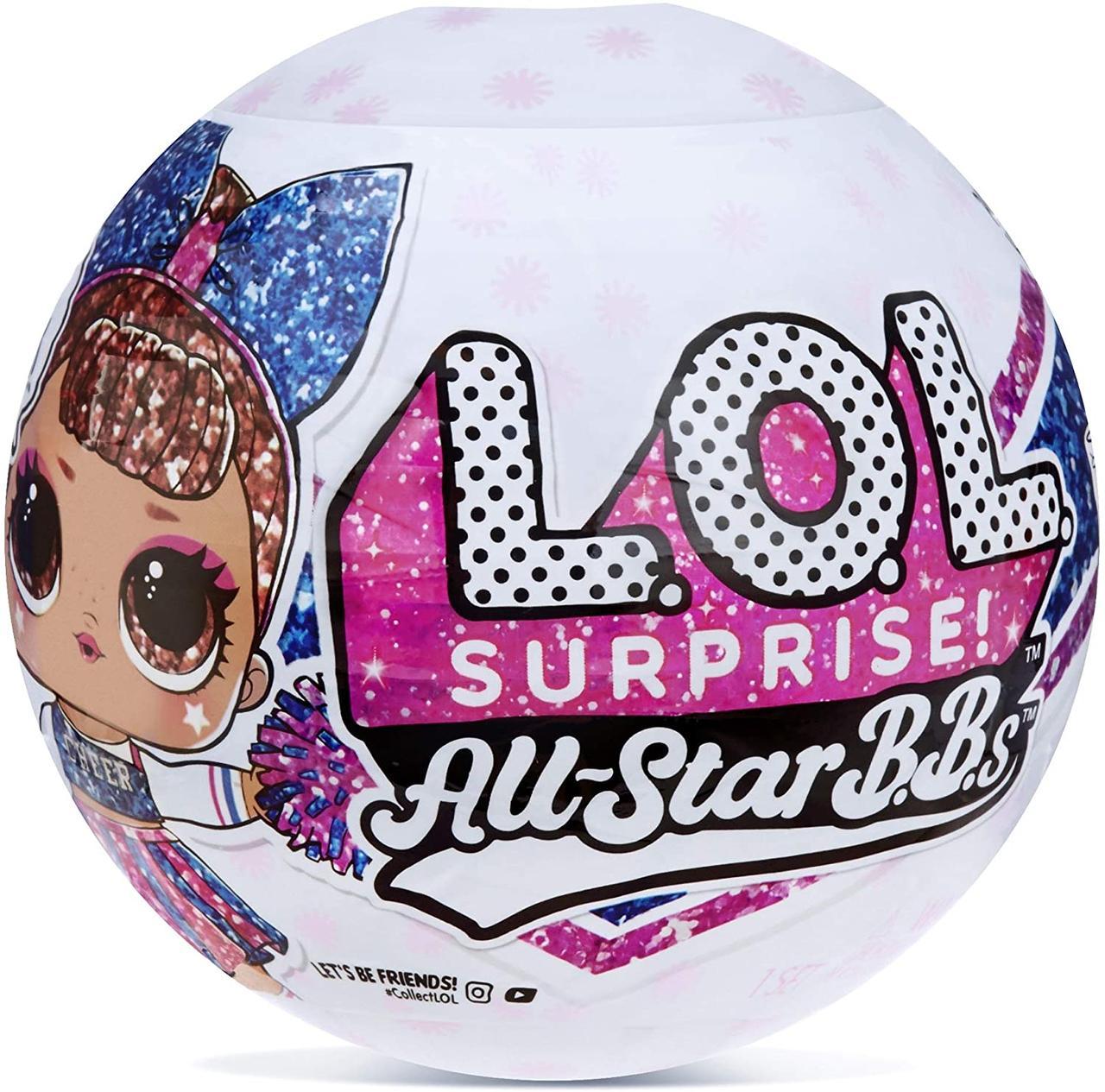 Кукла ЛОЛ Черлидеры 2-я серия Оригинал All Star BBs Series 2 Cheer Team (571780)