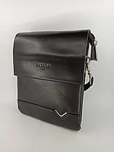 Шкіряна чоловіча сумка через плече / Мужская кожаная сумка через плечо Polo В311-1