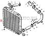 145.1301010-01 Радиатор водяого охлаждения КАМАЗ 5320 (3-х рядный) (пр-во г.Бишкек), фото 4