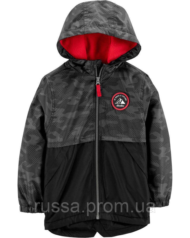 Демисезонная курточка на флисовой подкладке Картерс для мальчика