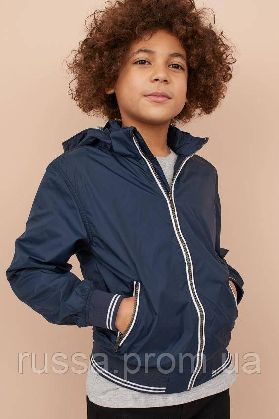 Детская демисезонная куртка на флисовой подкладке для мальчика