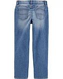 Классические детские джинсы с потертостями для мальчика ОшКош, фото 2