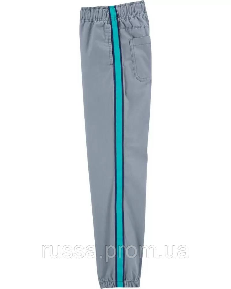 Классные поплиновые штанишки с полосами Картерс для мальчика