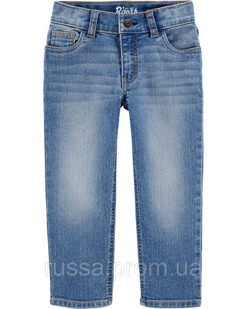 Классические детские джинсы с потертостями для мальчика ОшКош