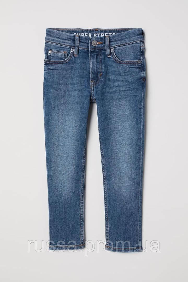 Модные стрейчевые джинсы Skinny для мальчика НМ
