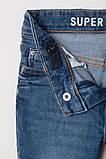 Модные стрейчевые джинсы Skinny для мальчика НМ, фото 2