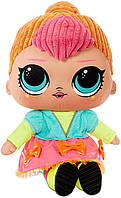 Плюшевая кукла ЛОЛ Неон Оригинал L.O.L. Surprise! Neon Q.T. – Huggable, Soft Plush Doll (571308E7C), фото 1