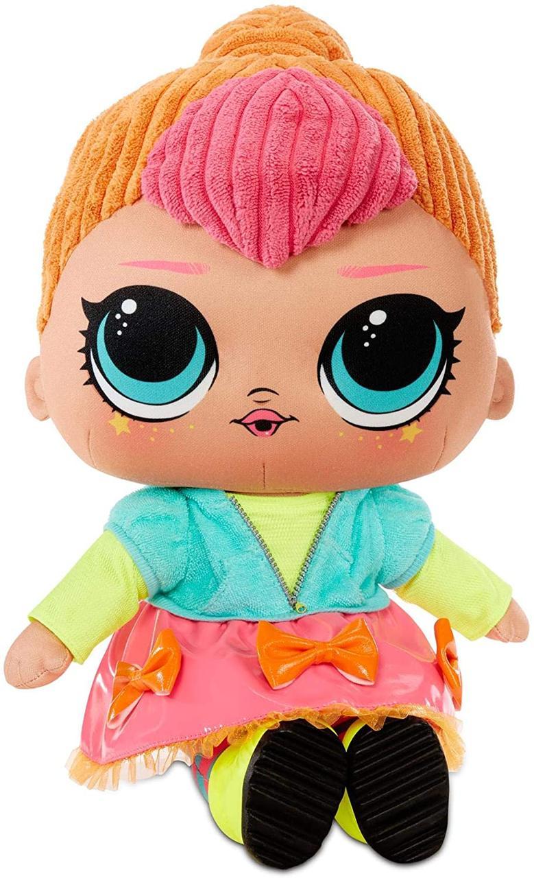 Плюшевая кукла ЛОЛ Неон Оригинал L.O.L. Surprise! Neon Q.T. – Huggable, Soft Plush Doll (571308E7C)