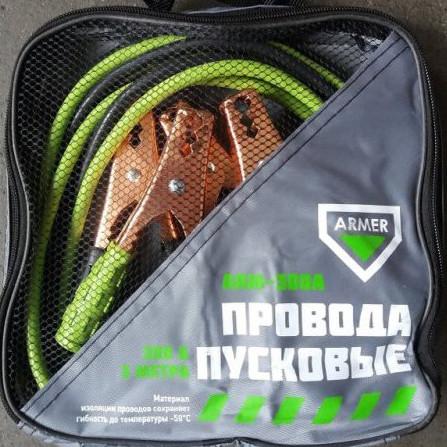 Пускові проводу 300А 3м сумка ARMER DEC-300A
