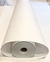 Крафт бумага упаковочная, белая рулон 84 см*100 метров, плотность 50 г/м2, производство Украина