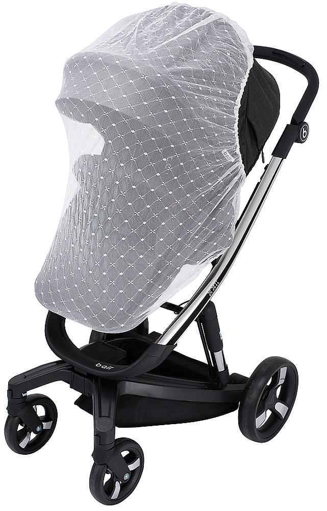 Москітна сітка для коляски Bair Electra для прогулянкової коляски біла