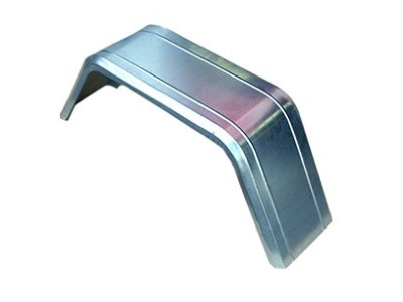 Крыло грязезащитное оцинкованное A14 230x880x340 мм (232004)