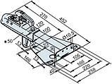 Сцепное устройство 75 VR с фланцем без страховочного троса (1225712), фото 2