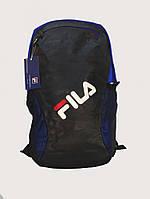 Рюкзак спортивный, городской, повседневный FILA синий-черный