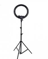 Штатив для лампи 2.1 м для блогера, селфи, фотографа, візажиста RL-SLF-1820, фото 3