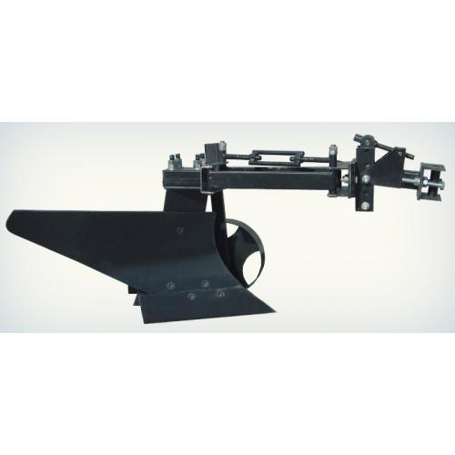 Плуг поворотный усиленный 35 см захват для мототракторов (мини-тракторов) с гидравликой и мотоблоков , Крючков