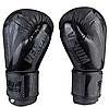 Боксерские перчатки  PU VENUM VM2955 (реплика, черние) размер 10 унц., фото 3