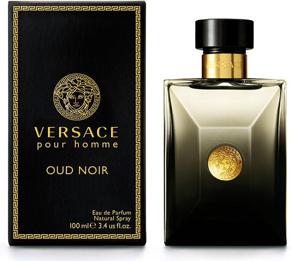Мужская парфюмированная вода Versace Pour Homme Oud Noir 100 мл