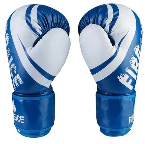 Боксерские перчатки Fire&Ice FB18/10B размер 10 унц. синий