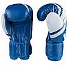 Боксерские перчатки Fire&Ice FB18/10B размер 10 унц. синий, фото 2
