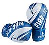 Боксерские перчатки Fire&Ice FB18/10B размер 10 унц. синий, фото 3