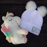 Дитяча шапка на флісовій підкладці Dizzy market