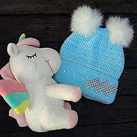 Детская шапка на флисовой подкладке Dizzy market