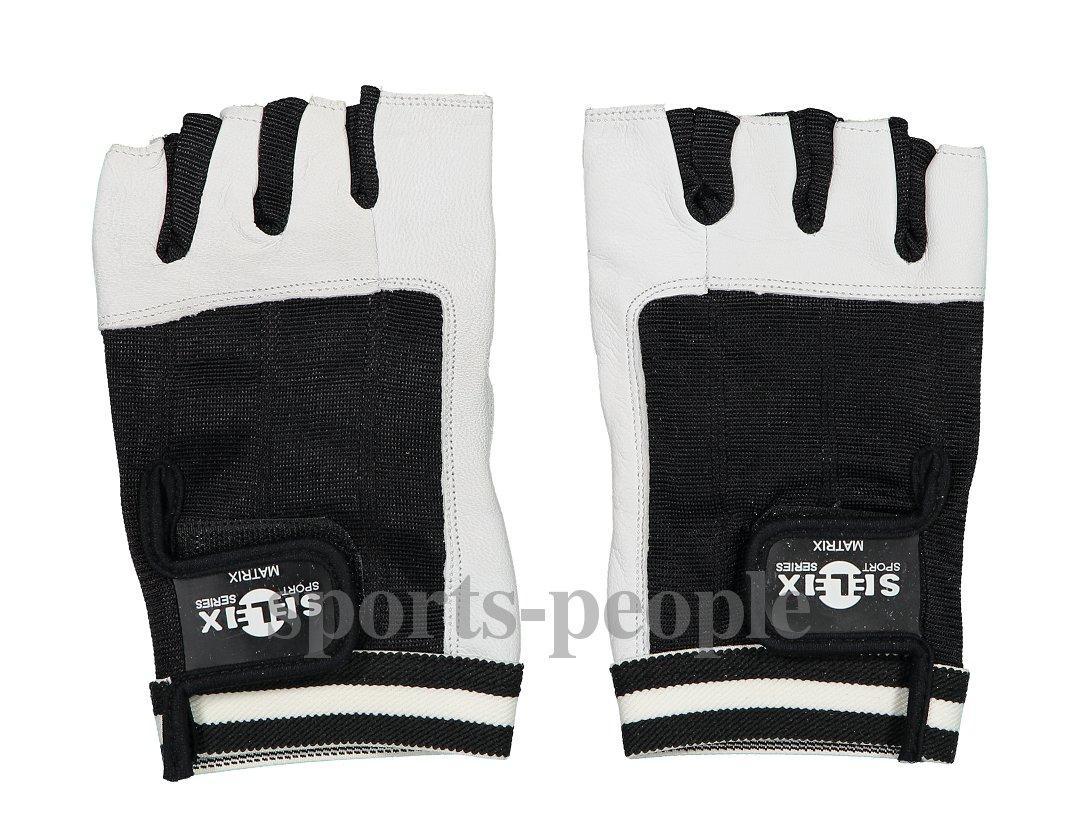 Перчатки для фитнеса, велосипеда, тяжелой атлетики,  Selex Matrix, кожа, размеры: S, M, L, XL