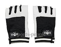 Перчатки для фитнеса, велосипеда, тяжелой атлетики,  Selex Matrix, кожа, размеры: S, M, L, XL, фото 1