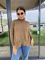Теплый стильный свитер универсального размера, фото 2