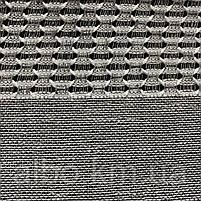Гарний тюль з льону сірого кольору на метраж, висота 2.8 м(1980V-14), фото 6