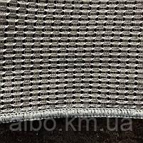 Гарний тюль з льону сірого кольору на метраж, висота 2.8 м(1980V-14), фото 5