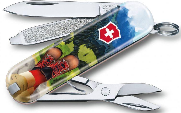 Складной нож Victorinox Classic Le I Love Hiking