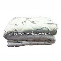 Одеяло теплое стеганное меховое с овечьей шерсти 200Х220 см ODA SM 8300, фото 1
