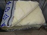 Одеяло овчина открытая (зима) полуторка, фото 2