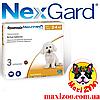50% Таблетка Меріал Некс гард Merial Nex gard для собак від кліщів і бліх 2-4кг 1шт до 12.20
