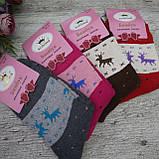 """Носки подростковые,  МАХРА. 30/33 р-р . """"Корона"""". Женские теплые зимние носки , утепленные носки, фото 4"""
