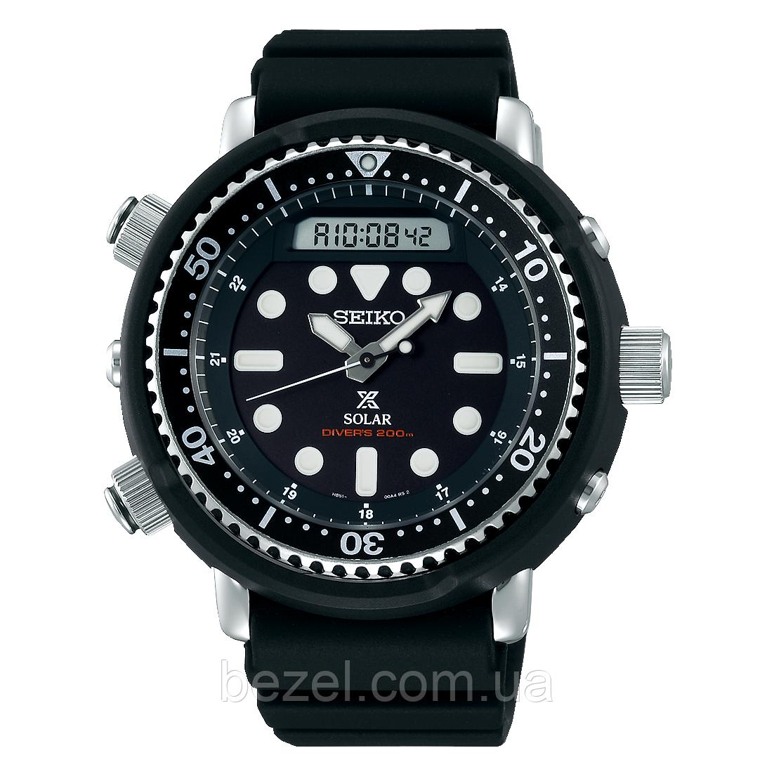 Мужские часы Seiko SNJ025 SNJ025P1 SBEQ001 Prospex Arnie Divers Solar