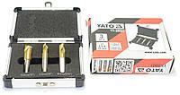Набор сверл для высверливания точечной сварки HSS YATO 6.5/8/10 мм YT-28921