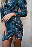 Оригинальное платье с затяжкой по боку, фото 2