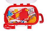 Іграшка набір Маленький доктор ТехноК 34.5смх25смх16см арт. 4319, фото 5