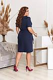 Ошатне жіноче плаття,розміри:50,52,54,56., фото 3
