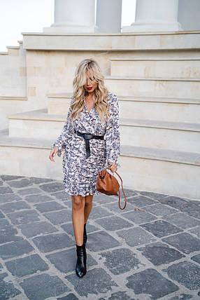 Восхитительное платье с красивым принтом, фото 2