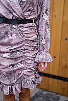 Восхитительное платье с красивым принтом, фото 3