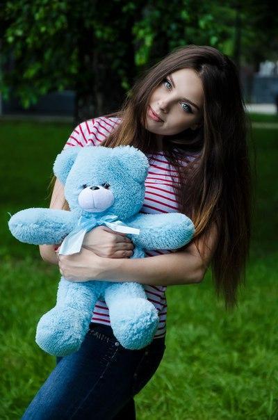 Плюшевий ведмедик Рафаель 50 см Блакитного кольору